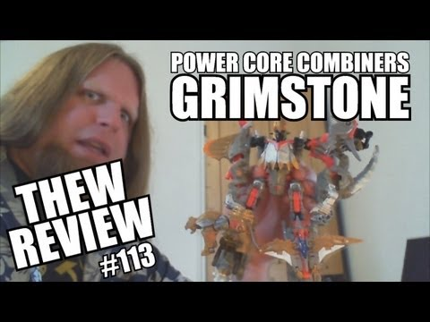 PCC Grimstone & Dinobots: Thew's Awesome Transformers Reviews #113