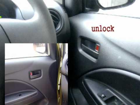 มิราจ ล็อค ประตูเอง Auto door lock unlock for mirage eco car