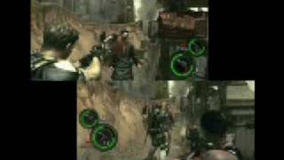Resident Evil 5 - Crash Site Multiplayer Gameplay