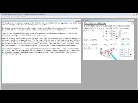 Finite Element Acoustic Analysis.  Lecture 3.