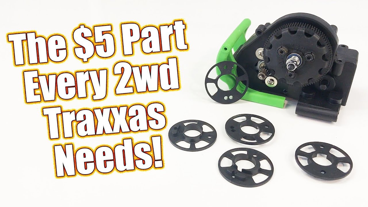 Set Your Gear Mesh Perfectly For Under $5 - Traxxas 2wd Fixed Gear Adapter  | RC Driver