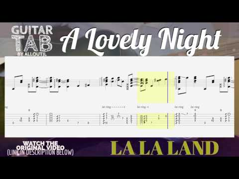 A Lovely Night  Fingerstyle Tab La La Land