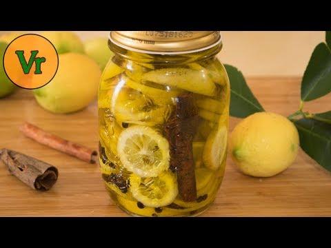 Recette Citrons Confits à L'huile D'olive Et Cannelle | Préparation à Froid