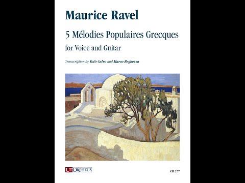 M. Ravel, La chanson de la mariée
