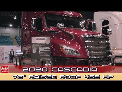 2020 Freightliner Cascadia 72''Raised Roof 455 HP - Exterior And Interior - 2019 Atlantic Truck Show