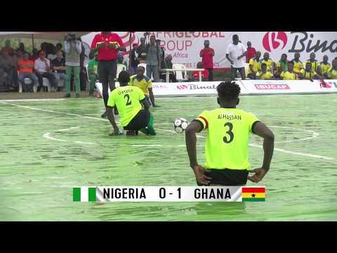 NIGERIA 0-1 GHANA – SKATE SOCCER