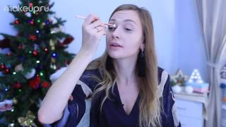 Как растушевать тени на глазах: видеоурок