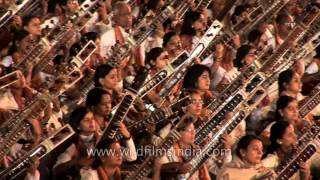 World record: mass Sitar recital in India