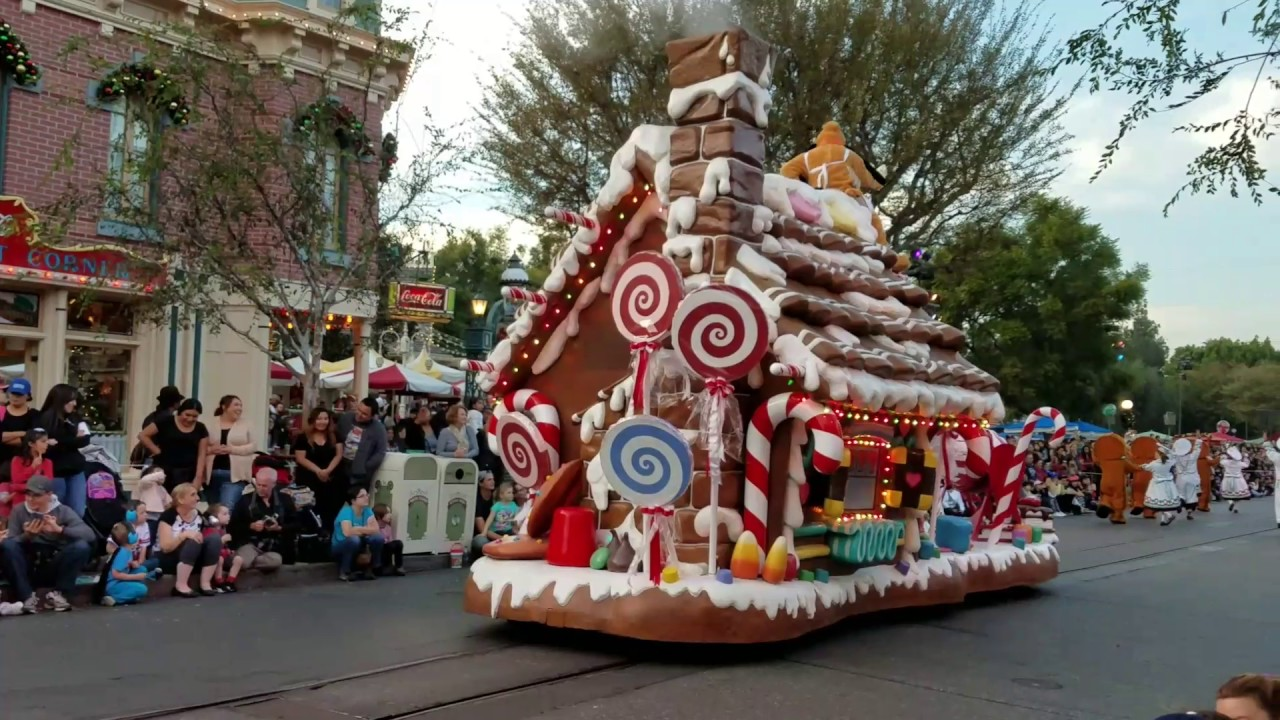 disney christmas parade 2016