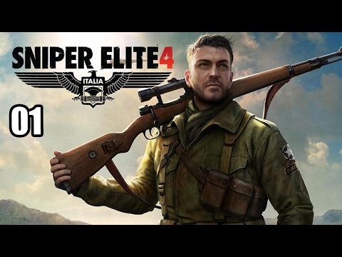 Let's Play Sniper Elite 4 Deutsch - Insel San Celini - Part 1