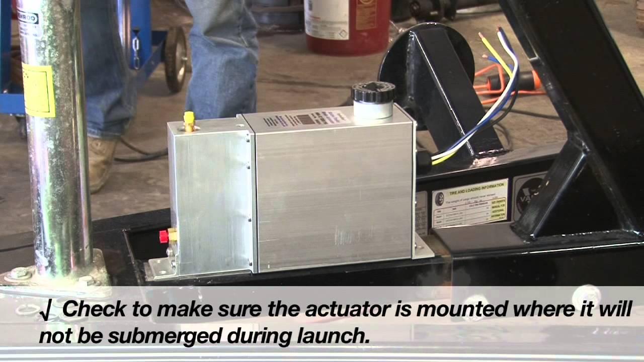 hydrastar brake actuator installation [ 1280 x 720 Pixel ]