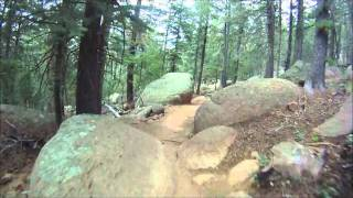 Mountain Biking. Mt. Elden, Flagstaff, Arizona.