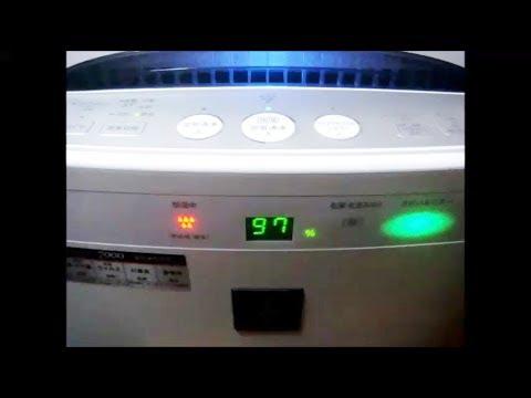 シャープ 空気清浄機 Kc B50 赤点滅 Sharp Air Cleaner Kc B50 Red Lamp Youtube
