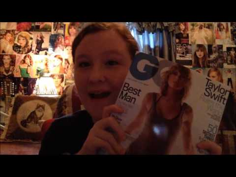 Taylor Swift Binder/Scrapbook Look Through