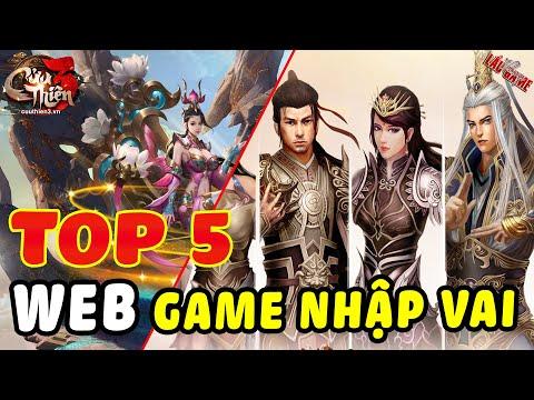 TOP 5 GAME KIẾM HIỆP PC - WEB GAME NHẬP VAI HUYỀN THOẠI - HAY NHẤT - ĐẸP NHẤT - ĐÔNG VUI NHẤT