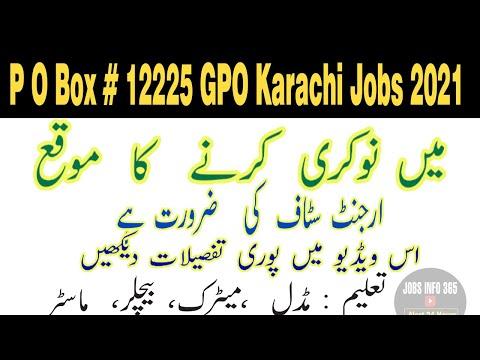 Latest Jobs in Karachi 2021| New Jobs in Karachi 2021| Jobs in Sindh 2021