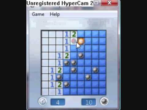 Minesweeper on windows vista