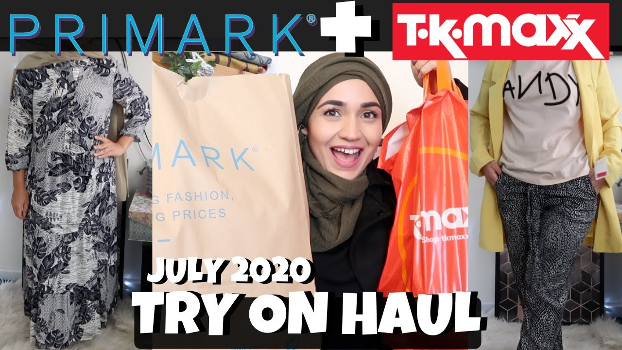 PRIMARK AND TK MAXX TRY ON HAUL | SafsLife