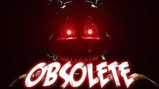 """Obsolete"" - FNaF Help Wanted Song by NateWantsToBattle [FNAF ANIMATED LYRIC VIDEO] thumbnail"