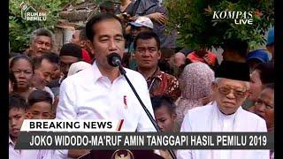 Jokowi: Saya Menghargai Apabila Prabowo-Sandi ke MK