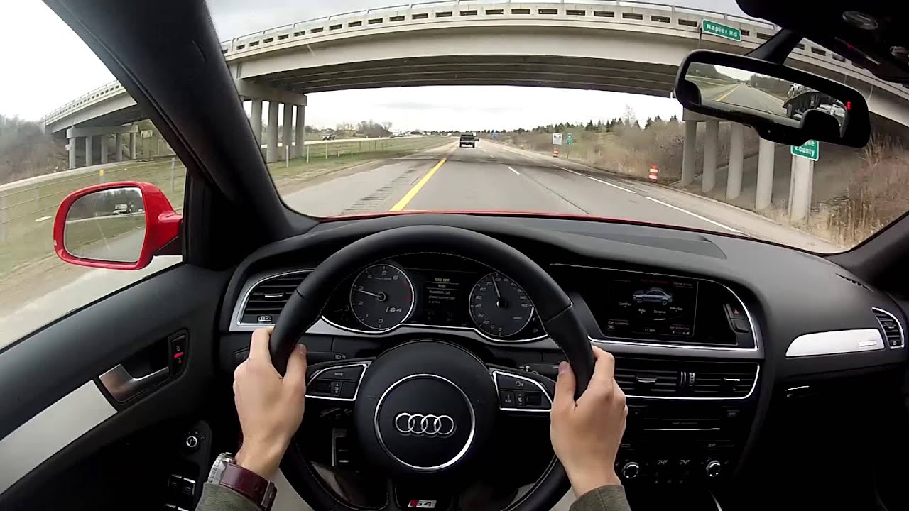 2014 Audi S4 Quattro Manual - WR TV POV Test Drive 2/2 ...