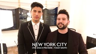 Dan + Shay - New York City (The Shack Premiere + Today Show)