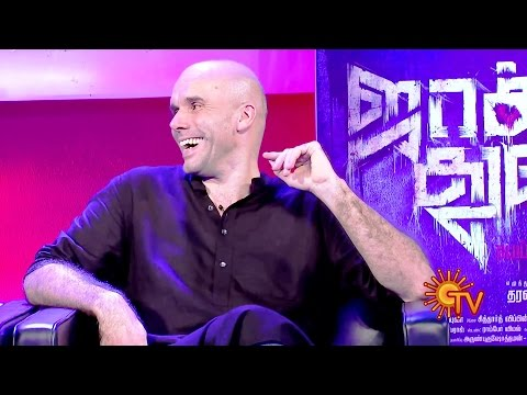 'Jackson Durai' Interview on Sun TV - with Sathyaraj, Sibiraj, Dharanidharan & Zachary Coffin
