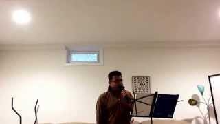 So Gaya yeh jahan... Nitin Mukeshji .. Karaoke by mlml