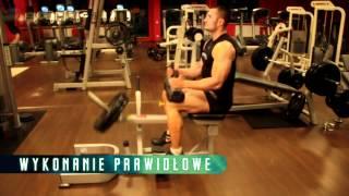 Trening nóg (łydek) - wspięcia na palce siedząc - Atlas Ćwiczeń SFD 2017 Video