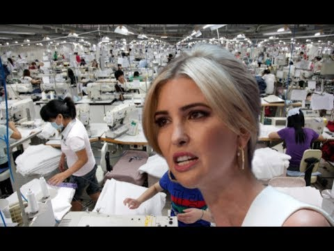 Trump's 'Made in America week' yet all Ivanka's Clothes made in Asia