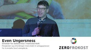 Muligheter og utfordringer med strøm til anleggsplasser - Even Ungersness