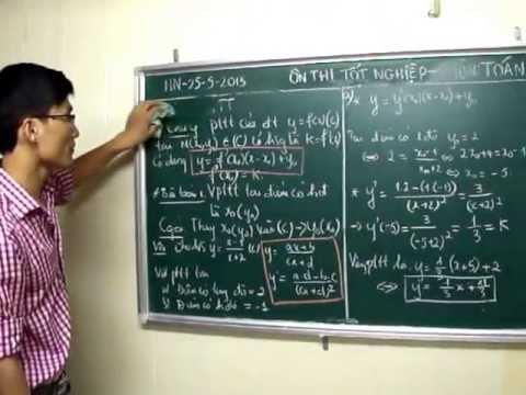 [Luyện thi cơ bản] Bài toán liên quan hàm số 1