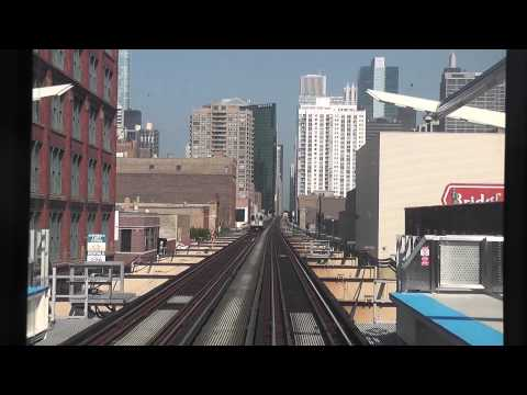 CTA Pink Line - Ashland to Clinton