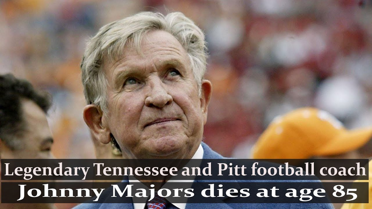 Johnny Majors, 85, Winning Coach at Pittsburgh and Tennessee, Dies