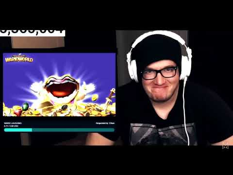 Mini Ladd Reacts To Wario Laughing