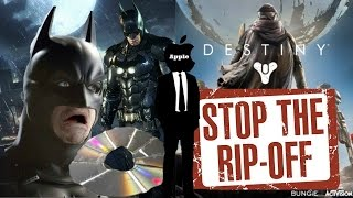 So Much Crap... Batman Arkham Knight PC Issues, Destiny rip off, Apple Censoring Games