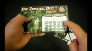 How to play Last Night on Earth the Zombie Board Game