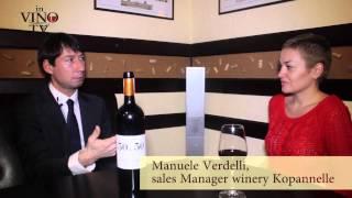 Мануэле Верделли (винодельня Капаннелле) о роли вина в жизни современного человека