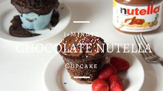 1-minute Microwave Nutella Cupcakes