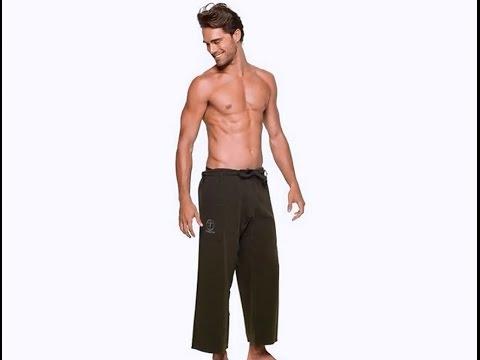 YOGiiZA Men's Organic Yoga Pants Review