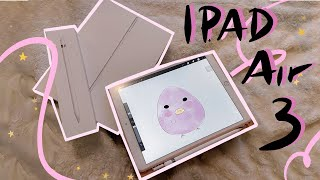 Unboxing iPad Air 2019 + Breaking Glass Protector ASMR l iPad Air 3 vs 2
