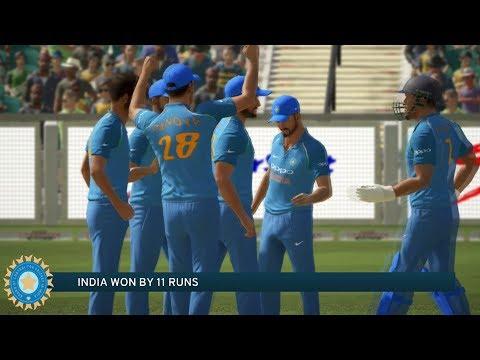 India vs South Africa - 4th ODI Match - Don Bradman Cricket 17