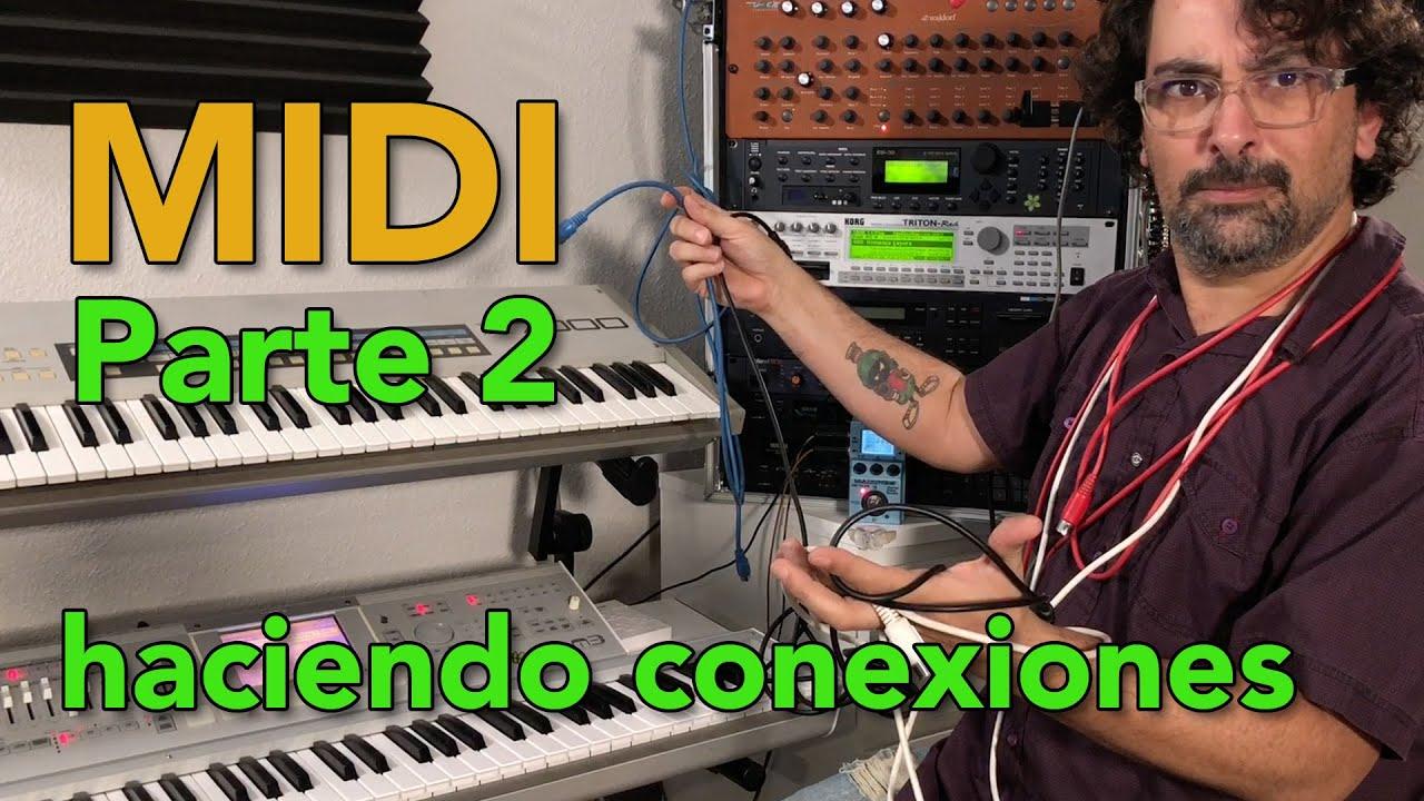Como hacer conexiones MIDI en Español