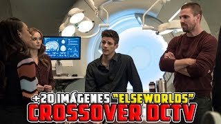"""DCTV Crossover """"ElseWorlds"""" PROMOS (The Flash, Arrow & Supergirl)"""