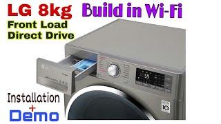 LG Front Load Washing Machine 8kg FC1408S3E Direct Drive.