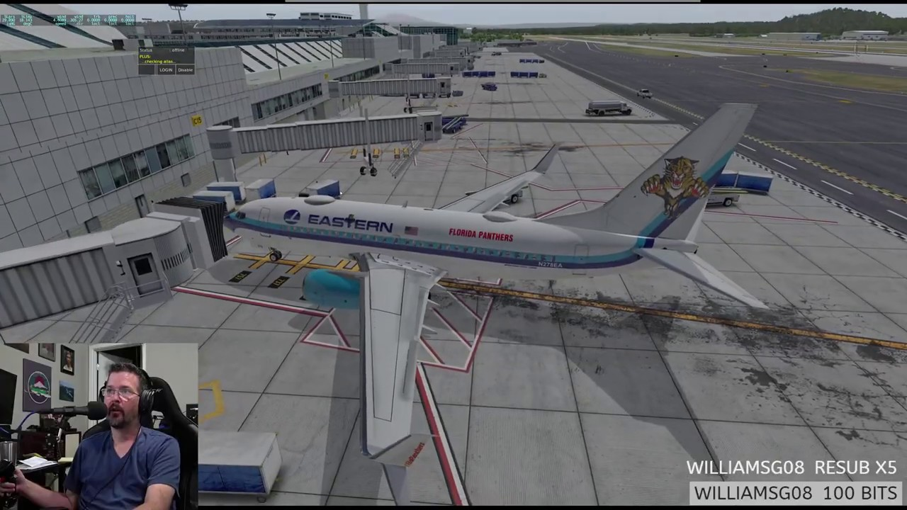 Part 1 of 2 Zibo 737-700 KPDX to KBOI Pilotedge