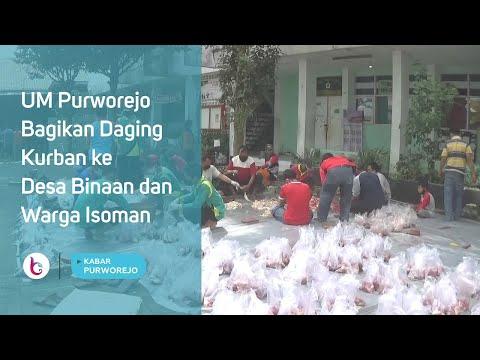UM Purworejo Bagikan Daging Kurban ke Desa Binaan dan Warga Isoman