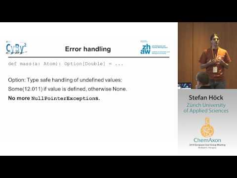 Stefan Höck (University of Zurich): CyBy2 - A Modular Rich Client for Chemical Info Management