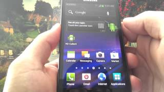 Rogers Galaxy S2 LTE running Ice Cream Sandwich
