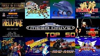 SEGA Mega Drive/Genesis Top 50 Games 📥